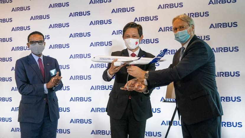 Airbus' new campus in Seletar a 'statement of confidence in Singapore' amid COVID-19 pandemic