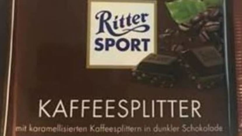 Importer of recalled Ritter Sport chocolate fined: SFA