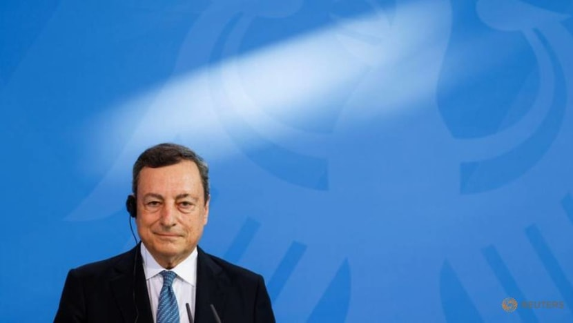 Football: Italy's Draghi says Euro final shouldn't be in London