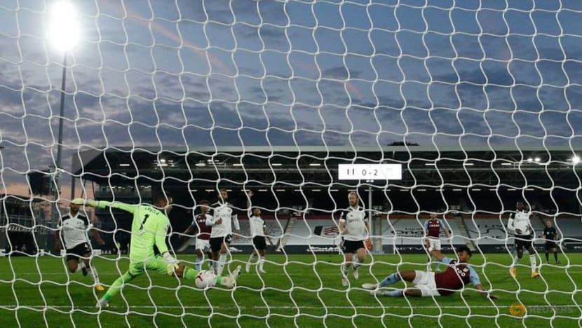 Football: Villa beat Fulham 3-0 to move into Premier League top four
