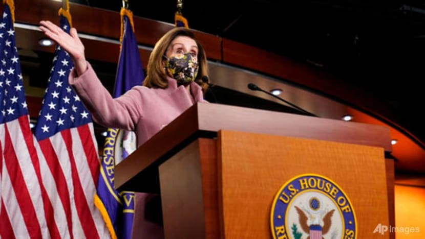 US House Speaker Pelosi, colleagues weigh timing of Trump impeachment trial