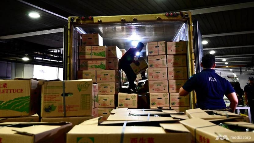 Food supplies still coming, but other Singapore firms brace for disruptions from Malaysia's shutdown