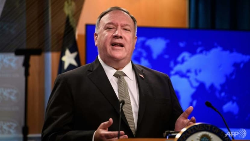 US 'deeply concerned' about Hong Kong activists held in China: Pompeo
