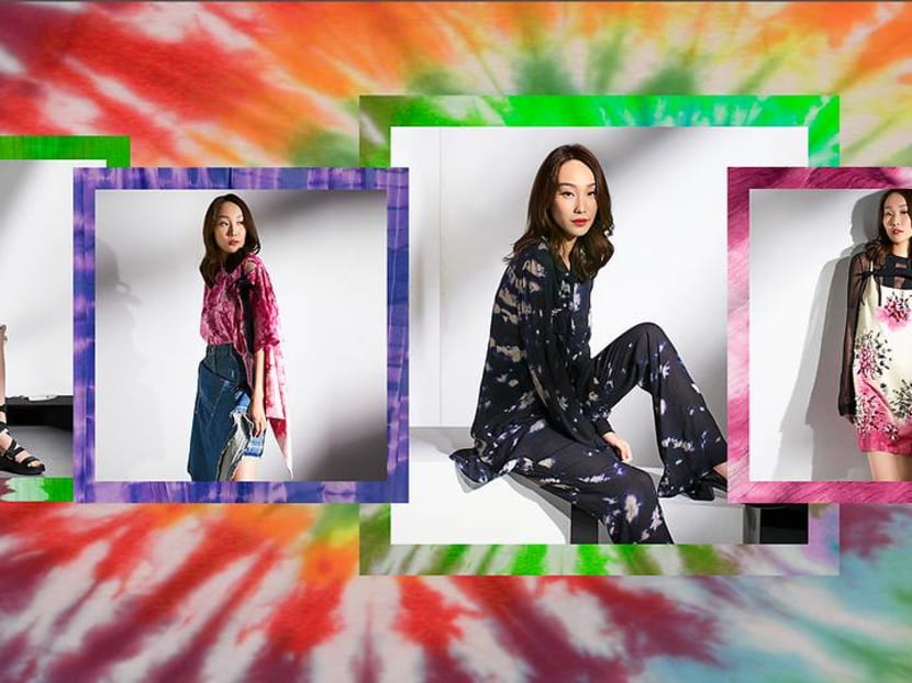 Tie-dye is back and Crazy Rich Asians' Constance Lau shows us how to work it
