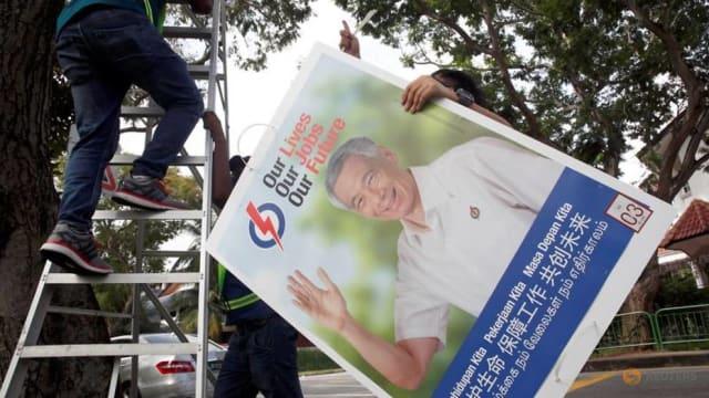 大选期间破坏行动党竞选海报 48岁男子被罚款