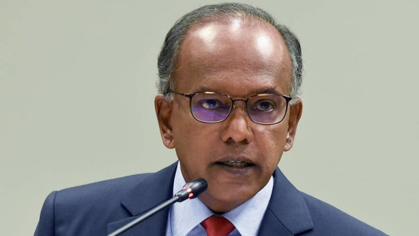 New law deals specifically with online falsehoods, 'preferable' over amending existing ones: Shanmugam
