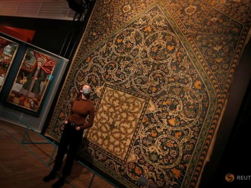'Epic Iran' puts 5,000 years of artefacts on show at London's V&A