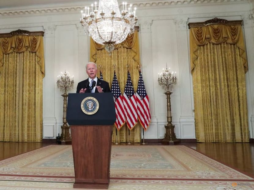 Biden scrambles to limit damage to credibility from Afghanistan