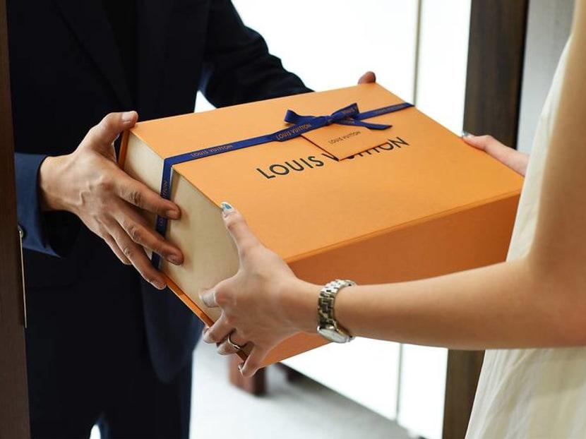 Louis Vuitton is now delivering luxury to your door – via men in sharp suits