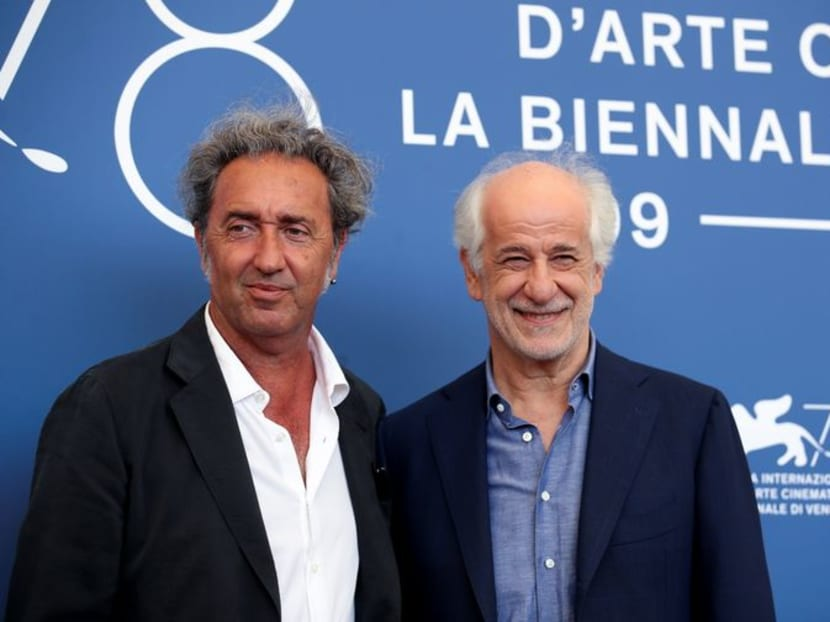 Italian director Sorrentino turns camera on own family tragedy