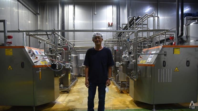 'Ramai kawan rasa saya sudah gila': Dari bekerja di pejabat kepada mengendalikan empayar susu di Malaysia