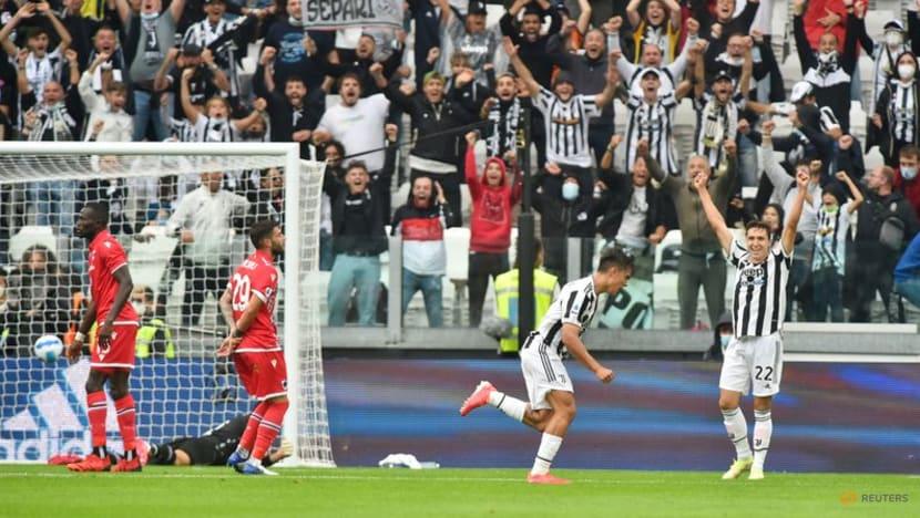 Joy and tears for Dybala as Juventus beat Sampdoria in first home win