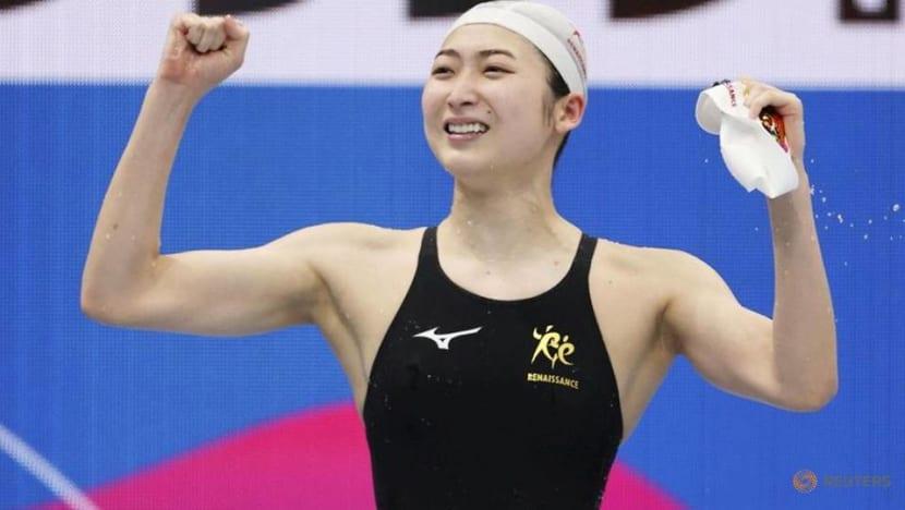 Swimming-Leukaemia survivor Ikee defies odds by securing Olympics berth