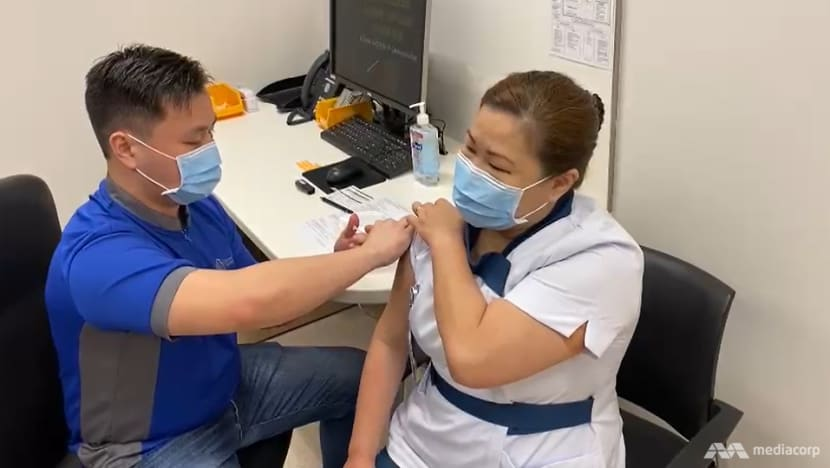 NCID nurse becomes first person in Singapore to receive COVID-19 vaccine