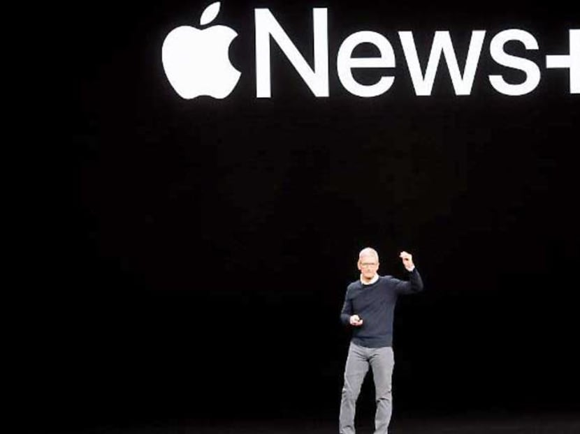 Apple includes 300 magazines in subscription news service