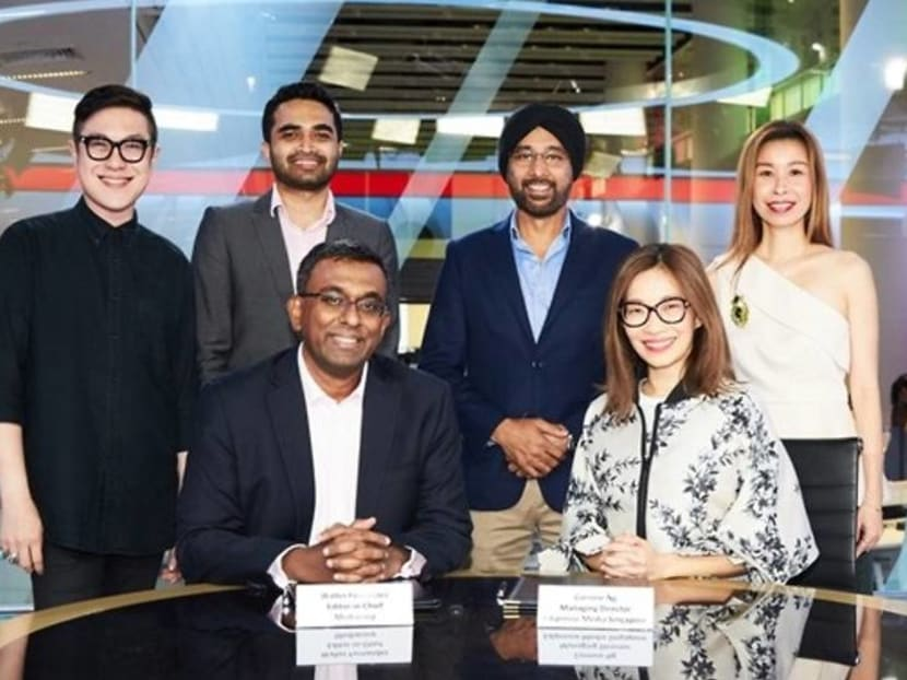 Mediacorp and Edipresse Media Singapore announce joint deal to create luxury content