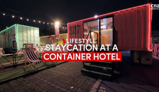 Staycation at Singapore's newest container hotel at Downtown East | CNA Lifestyle