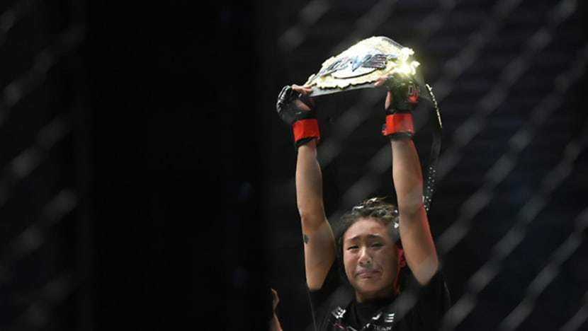 MMA: Angela Lee could lose unbeaten record in upcoming bout, says ONE chairman