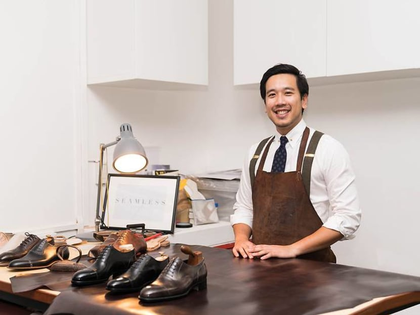 The Singaporean bespoke shoemaker who dreams of stepping onto the world stage