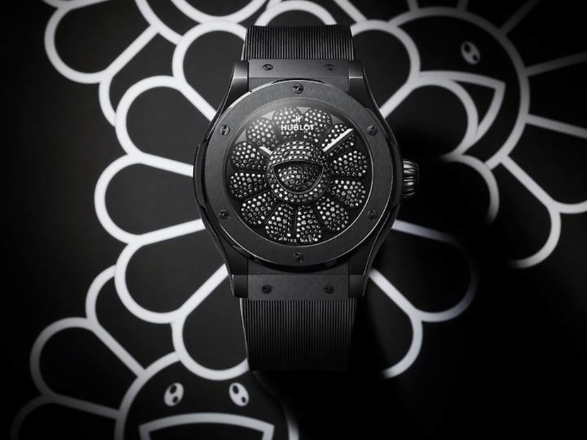 Hublot debuts Takashi Murakami collaboration plus world's first orange sapphire watch