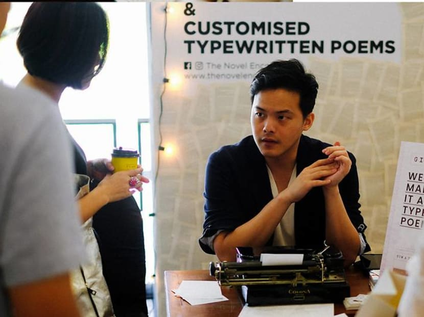 Creative Capital: This Singapore online bookstore sells 'mystery-wrapped books' and customised poetry