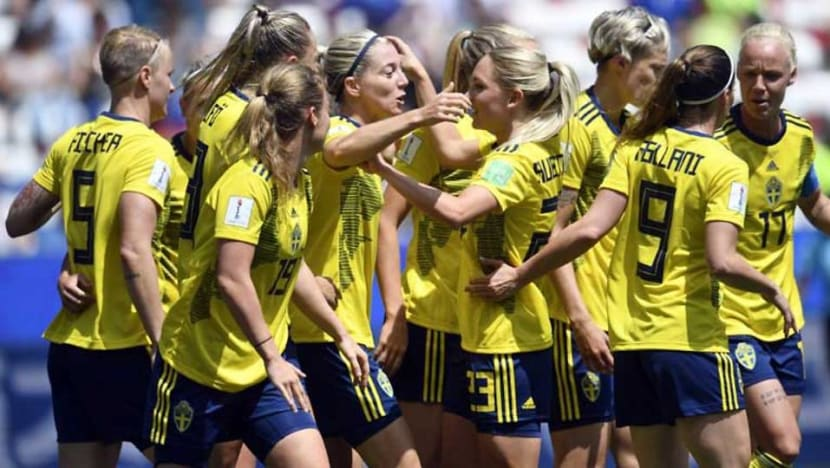 Football: Sweden cruise past Thailand to make Women's World Cup last 16