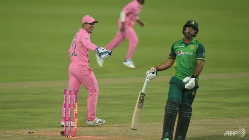 Cricket: Stunning Fakhar ton not enough for Pakistan in second ODI vs South Africa