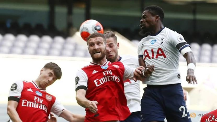 Football: Arsenal hope to shred form book in Spurs derby