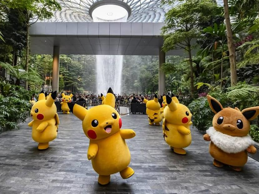 Get your cameras ready: Pokemon Parade hits Jewel Changi Airport this month