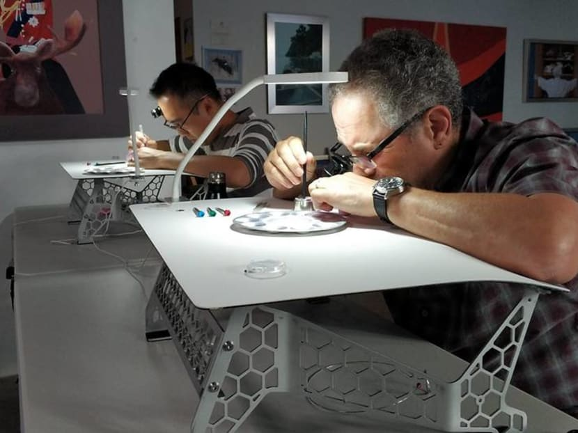 The Horological Society of New York sells out watchmaking classes in Singapore