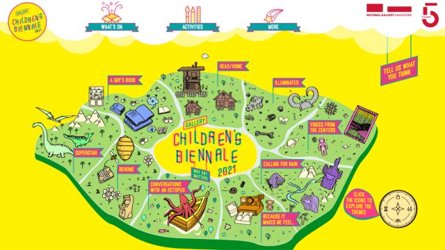 结合线上线下体验 Children's Biennale欢乐加倍!