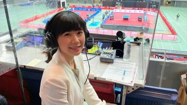 离婚后首现身 福原爱担任东京奥运乒乓球赛解说