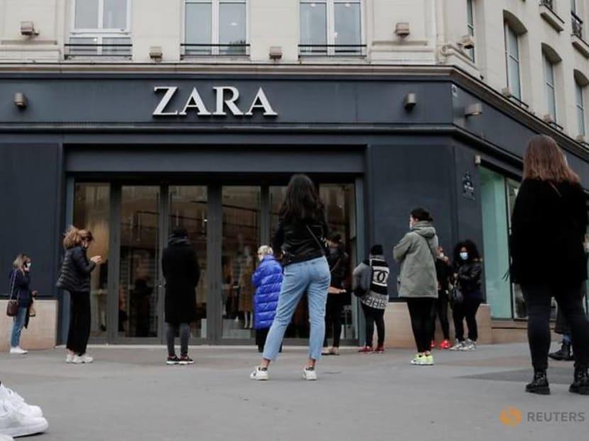 Inditex's 2020 net profit falls 70per cent as pandemic keeps many shops closed