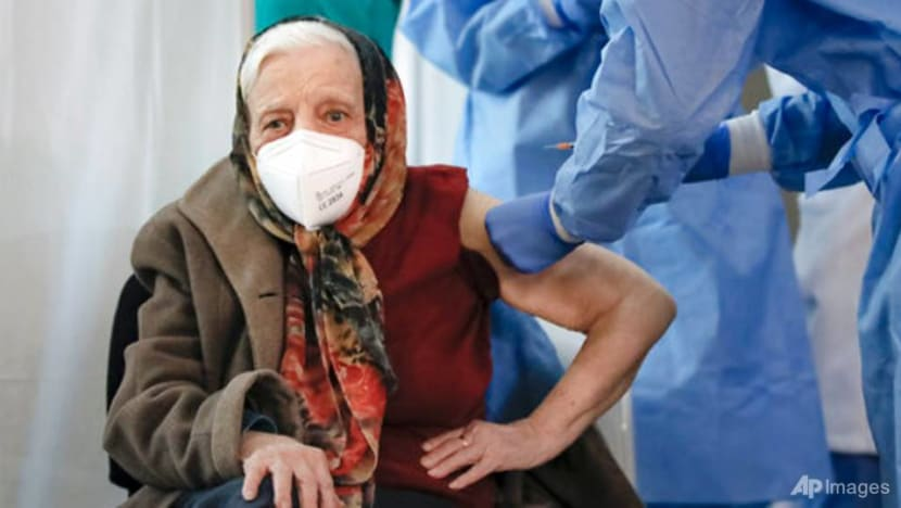 Romanian woman, 104, says vaccine 'only way' to end COVID-19 pandemic