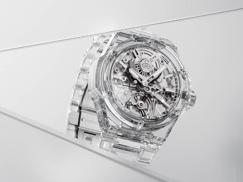 Hublot's new all-sapphire Big Bang watch hides absolutely nothing