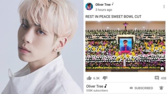 美国歌手恶搞钟铉灵堂照 粉丝气炸要求道歉