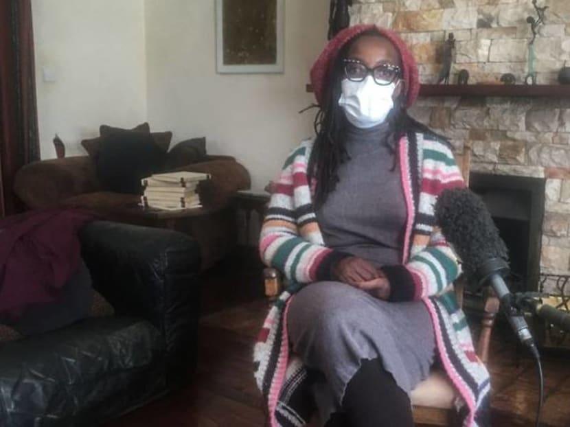 "After arrest, Zimbabwean novelist decries state ""chokehold"""