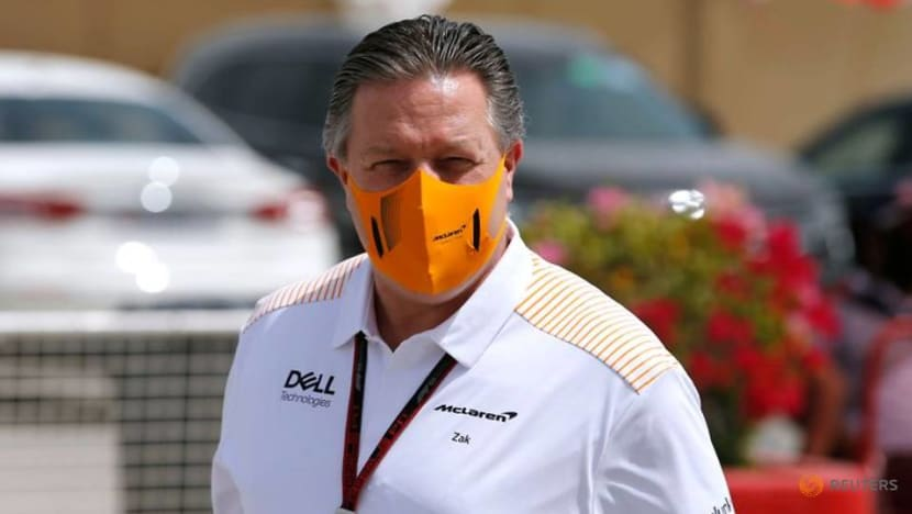 Formula 1: McLaren CEO Brown isolating after positive COVID-19 result