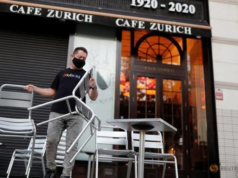 Barcelona bars spring back to life after 5-week coronavirus closure