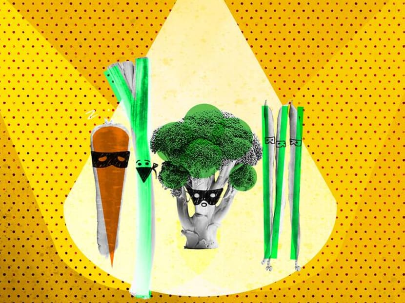 How do you get your kids to eat their greens? Try a game of secret vegetable
