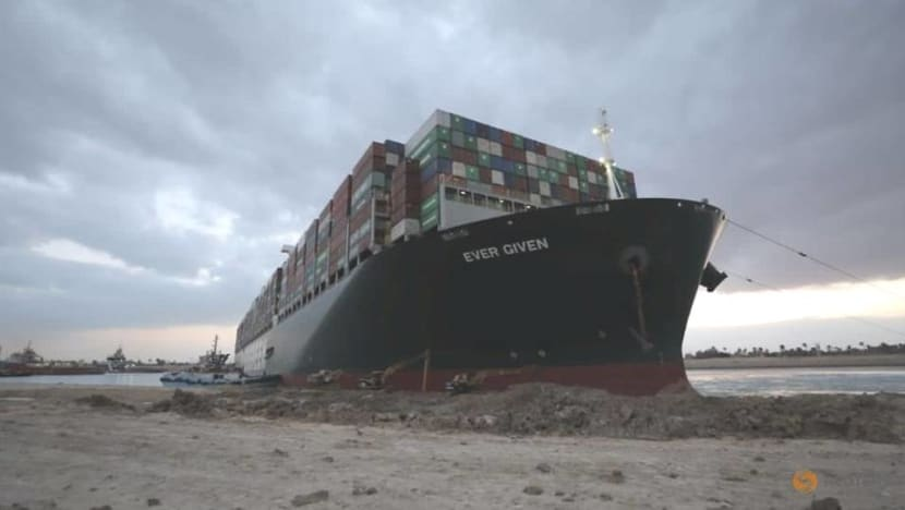 Ever Given ship stuck in Suez Canal turned 80% in 'right direction': Egypt canal authority