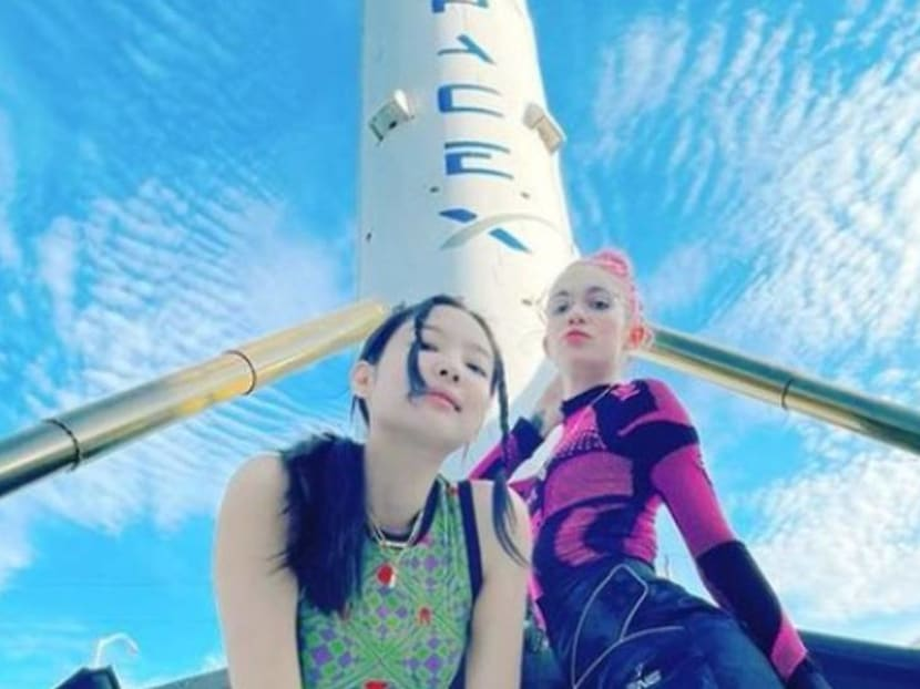 Grimes and Blackpink's Jennie post 'rocket day' photos, spark collaboration rumours
