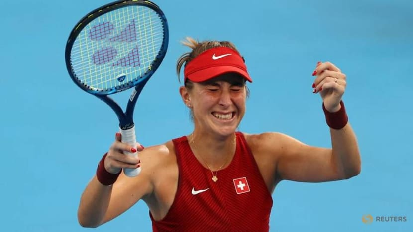 Olympics-Tennis-Switzerland's Bencic goes for gold after win over Rybakina