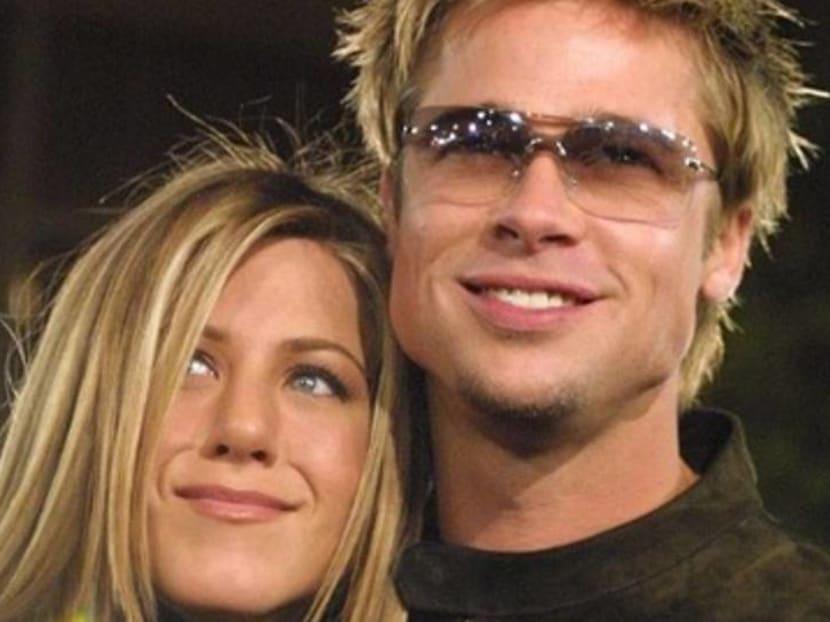 Jennifer Aniston and Brad Pitt are finally over the Angelina Jolie drama
