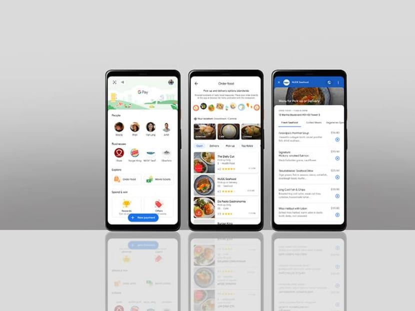 You can now search for Singapore food places with delivery, pick-up options on Google Pay