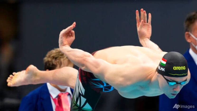 Swimming: Torn trunks drama as Hungary's Milak wins Tokyo Olympics 200m butterfly gold
