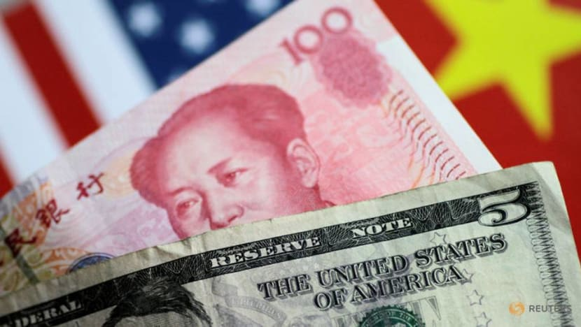 Chinese yuan falls to lowest level against dollar since August 2010