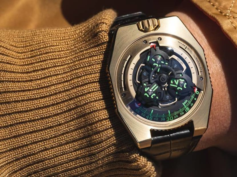 Urwerk to auction Star Wars-inspired UR-100 timepiece for COVID-19 relief