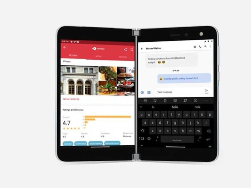 Microsoft prices its dual-screen Android phone at US$1,399