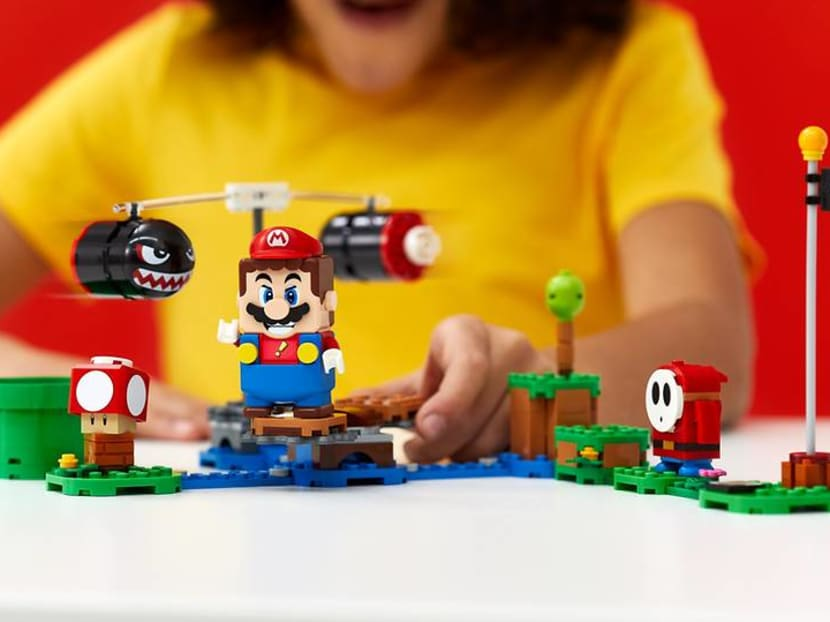 Video game or toy? World's first Lego Super Mario can collect coins in real life
